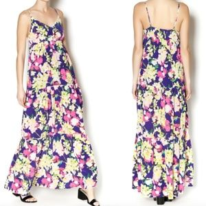 Yumi Kim Darling 100% Silk Maxi Dress
